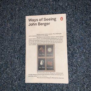 Ways of Seeing By John Berger Book
